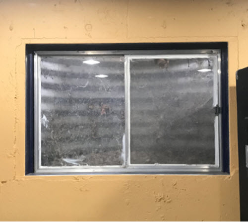 Basement Windows Replacement, Vinyl Basement Windows Replaced