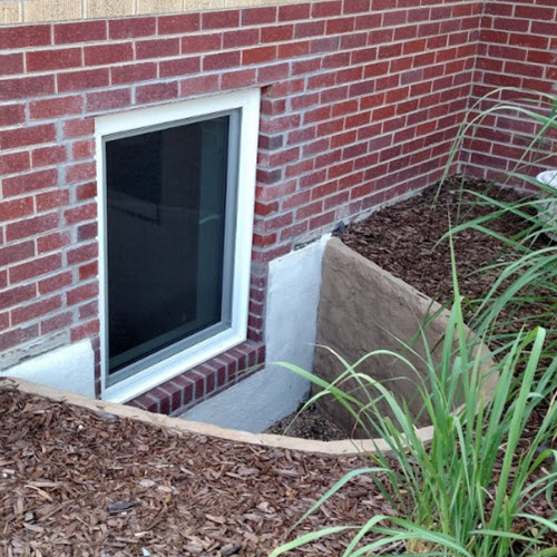 Egress Window Wells Photographs, Pictures, Images, Gallery