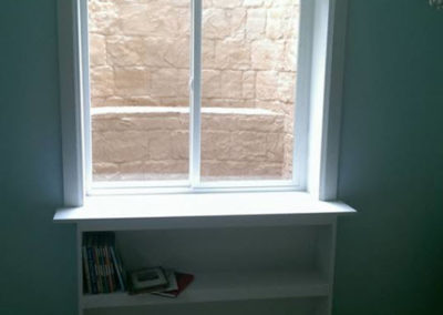 Custom Trim Bookcase