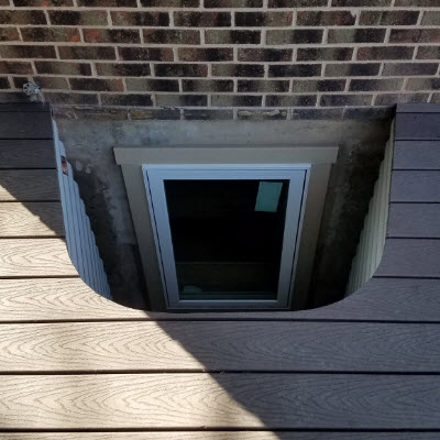 Egress Window Wells Photographs Pictures Images Gallery